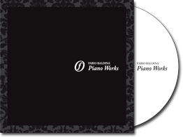 Fabio Baldina - Piano Works Cd - Image